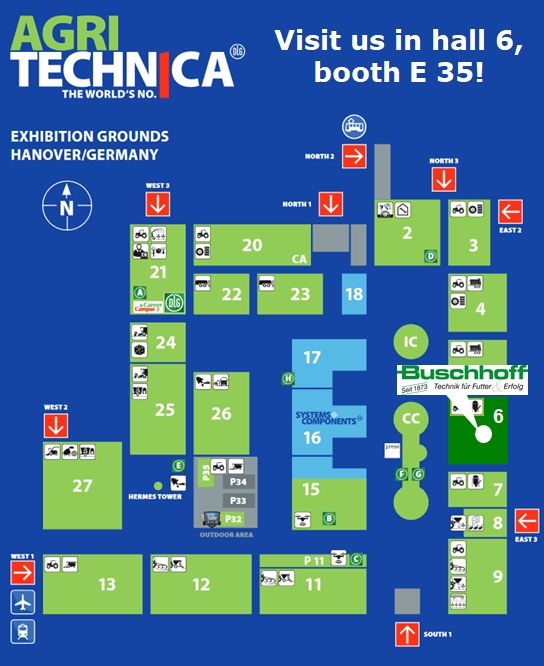 Map Agritechnica 2019